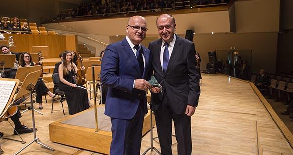 """Photo of A Real Banda de Gaitas da Deputación recibe o Premio Nacional """"Excelentia"""""""