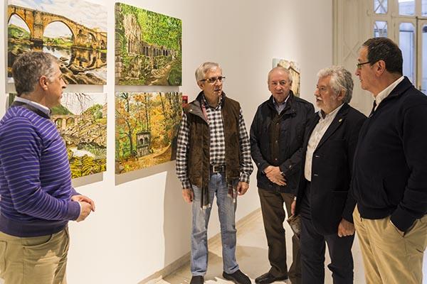 Photo of Exposición pictórica sobre os espazos naturais da provincia no Marcos Valcárcel
