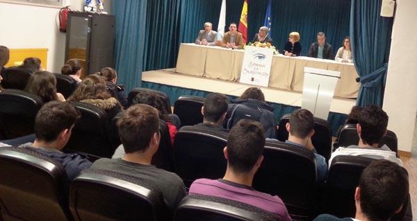As xornadas de orientación académica e laboral van dirixidas aos alumnos de Bacharelato e 4º da ESO.