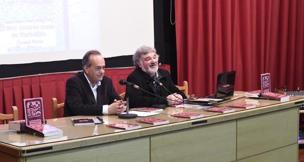 """Photo of O Carballiño presenta a reedición do """"Cantigueiro de Orcellón"""" de Manuel María"""