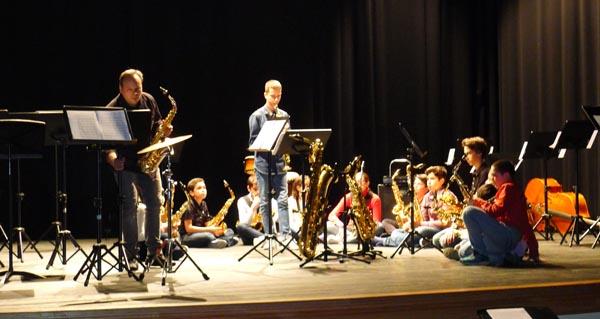 Photo of Concerto de Sax-Voyage, Cía Berciana de saxofóns no Barco