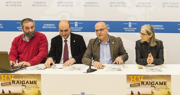 Photo of Celanova festexa a XV romaría etnográfica Raigame o 17 de maio