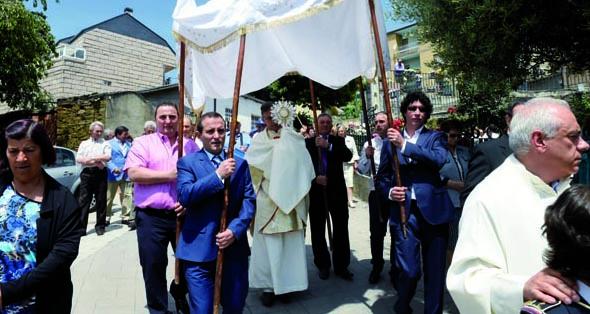 Casaio celebra esta fin de semana as Festas do Corpus