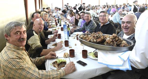 Photo of O cordeiro, protagonista da festa gastronómica en Larouco