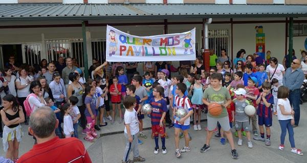 O CEIP Julio Gurriarán esixe á Xunta o pavillón prometido