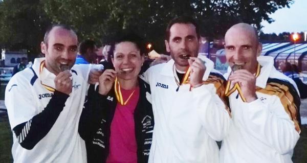 Photo of Tres podios para o Fluvial Barco no Campionato de España de Maratón