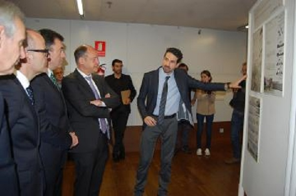 Photo of Presentan o proxecto gañador do edificio do Campus da Auga