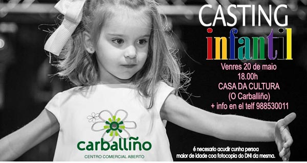 Photo of Casting infantil para ser modelo na Gala do Comercio do Carballiño