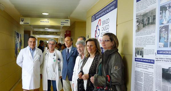 """Photo of O HCV acolle a exposición """"25 anos da transferencia do Sergas en Ourense"""""""