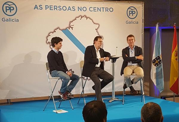 Photo of Pistoletazo de saída en Ourense ao XVI Congreso do PPdeG