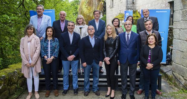 Photo of O PP ourensán presenta aos seus candidatos ao 26X
