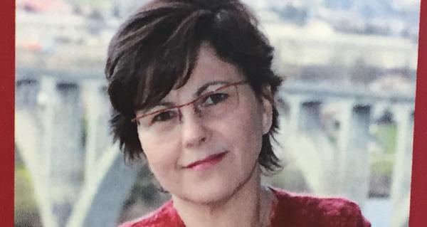 """Celia Díaz, autora de """"A Boca do Monte""""."""