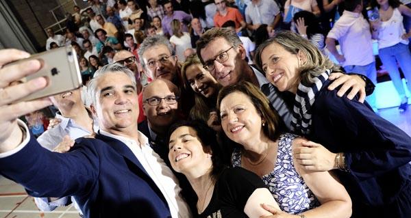Photo of O PP pecha a campaña en Ourense nun ateigado pavillón dos Remedios