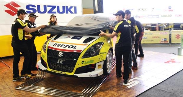 Photo of Suzuki-Repsol estrea no rallye o Swift R+, o seu primeiro coche da categoría N5