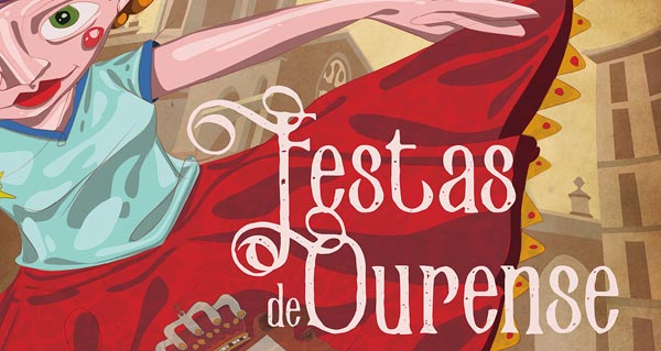 """Photo of 'Bailemos no Corpus"""", o cartel elixido para as Festas de Ourense 2016"""
