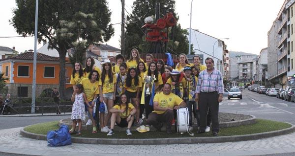 Photo of O Rúa CF feminino, subcampión da Copa Deputación