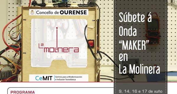 Photo of Obradoiro para crear robots, programar ou imprimir en 3D, en La Molinera