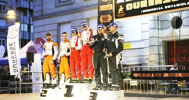 Photo of O aragonés Cristian García gaña o 49 Rallye de Ourense