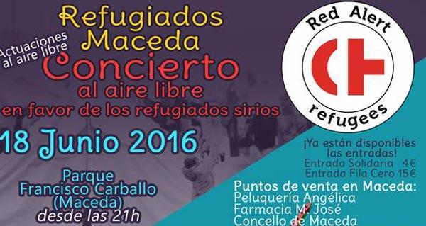 Photo of Maceda celebra unha gala benéfica a favor dos refuxiados sirios