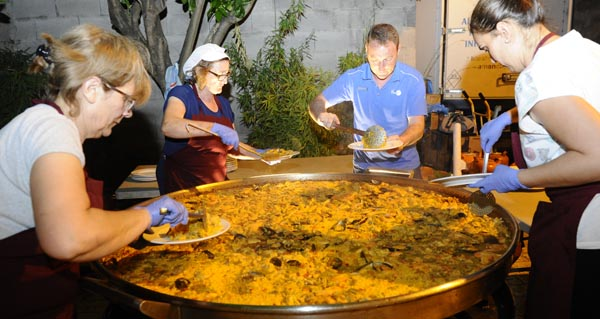 Photo of A paella, prato estrela na cea popular de Fontei