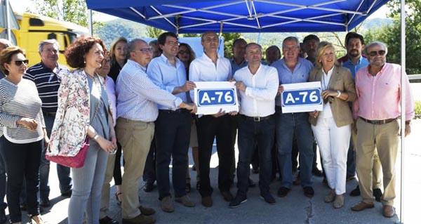 """Photo of O PP galego e leonés reivindica que """"non se pare a A-76"""""""