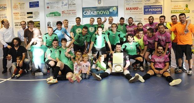 Photo of A final da Copa Deputación enche o polideportivo de Manzaneda