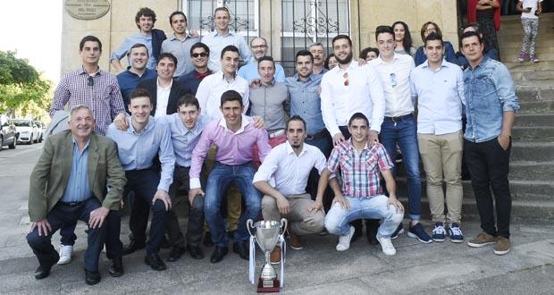 Photo of Viana celebra os resultados deportivos do equipo de fútbol