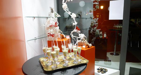 Ademais agasallarase aos clientes con diversas e deliciosas degustacións./ Foto: Ángeles Rodríguez.