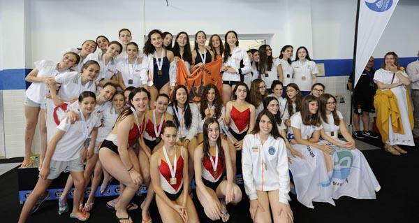 Photo of 15 medallas para o Sincro Ourense no campionato galego de nivel