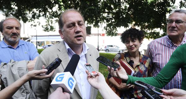 Photo of Reunión dos candidatos socialistas cos sindicatos e empresarios de Valdeorras