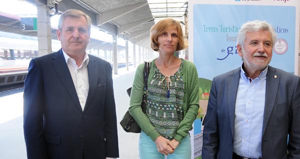 """Photo of Viaxe inaugural dende Ourense do """"IV Galicia a todo tren"""""""