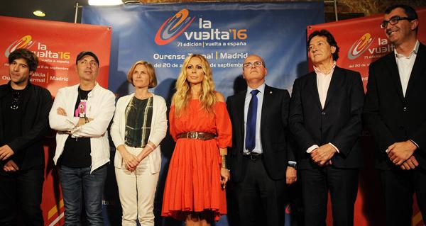 """Photo of Presentación do anuncio da """"Volta Ciclista a España"""", en Ourense"""