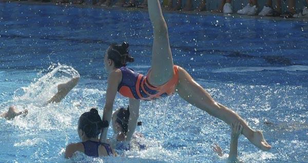 Photo of O Sincro Ourense, no nacional infantil de natación sincronizada