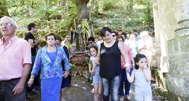 Photo of Parada de Sil rende culto a San Bieito