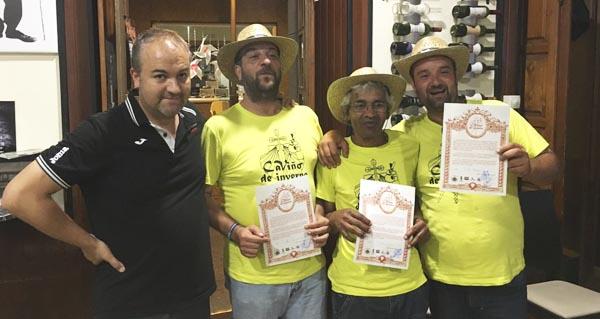 """Photo of Os """"peregrinos"""" completan a ruta do II CaViño de Inverno"""