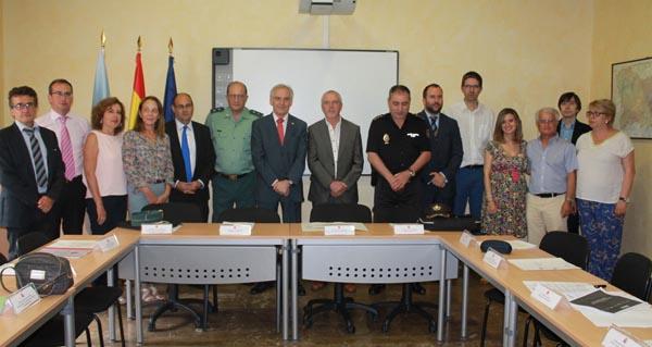 Photo of Reunión do subdelegado do Goberno coa administración periférica do Estado en Ourense