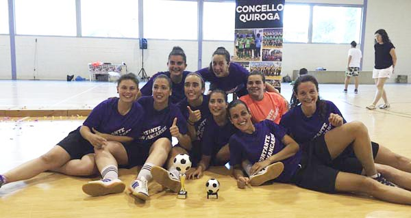 Photo of 8 equipos de toda Galicia, no I torneo futsal feminino Val de Quiroga