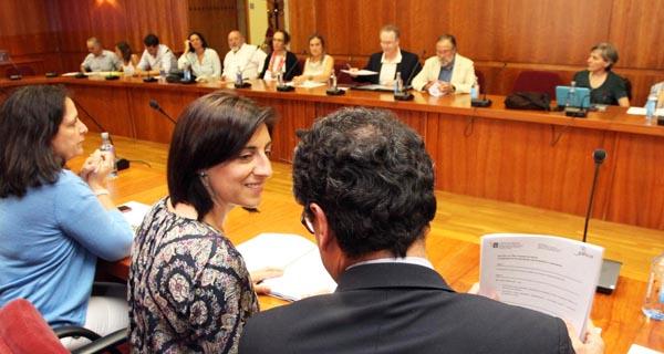 A xuntanza foi presidida pola conselleira do Medio Rural.