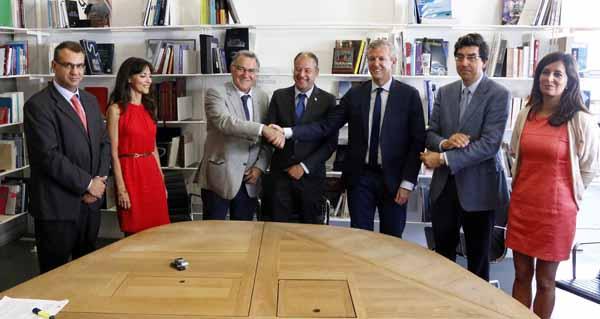 Photo of Fegamp, Universidade de Vigo e Xunta asinan un convenio