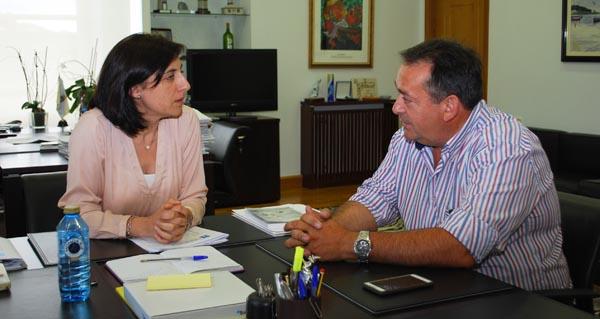 Photo of Reunión do alcalde de Larouco coa conselleira do Medio Rural