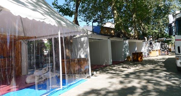 Photo of A XIX Feira do Viño de Valdeorras vai tomando forma