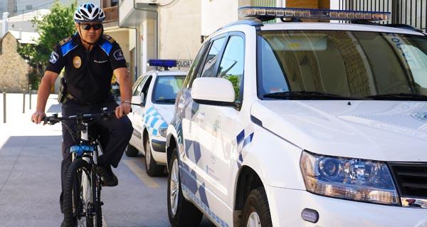Photo of A Policía Local do Barco comeza a patrullar en bicicleta