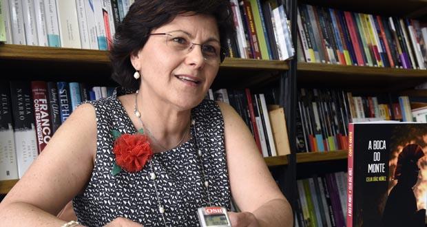 "Celia Díaz presentará o seu libro ""A boca do monte"". /Foto: Carlos G. Hervella."