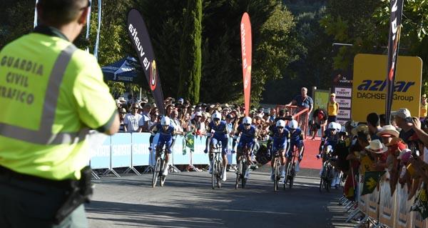 Photo of O Balneario de Laias, punto de partida da 1ª etapa da Volta '16