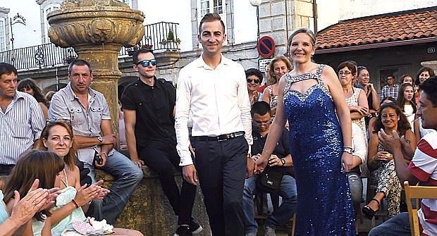 Photo of A praza Maior de Viana convértese nunha pasarela de moda