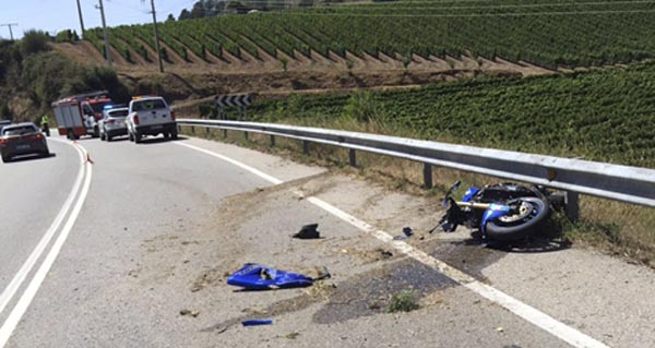 Photo of Un motorista falece nun accidente na Rúa