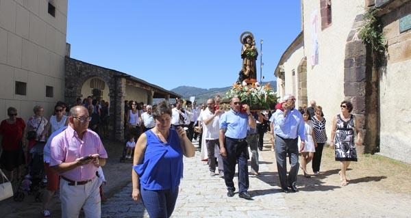 Photo of A Rúa rende culto a San Roque