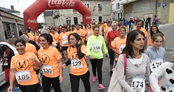 Photo of A Veiga agarda a 150 deportistas na II Andaina e Carreira Popular