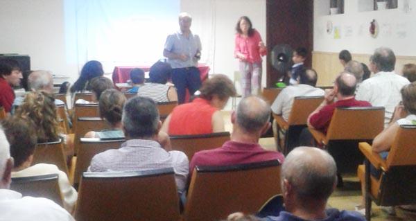 Photo of Conferencia do investigador valdeorrés Isidro García Tato en Vilanova