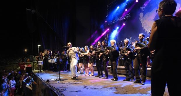 Photo of Lubián vibra con Carlos Núñez e coa Banda das Portelas